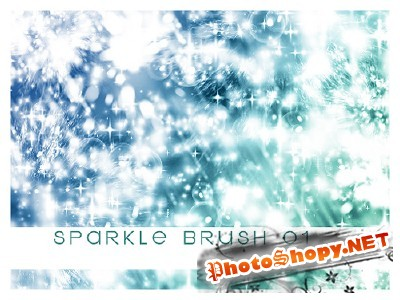 Sparkle Brushes Set for Photoshop
