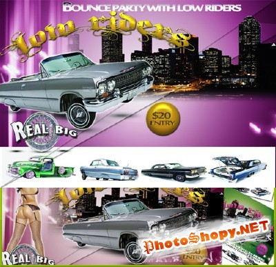 Lowrider Bounce Flyer