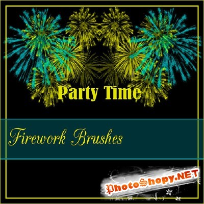 Firework Brushes Set for Photoshop