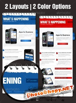 Business eNewsletter Template