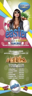Party Flyer - Easter