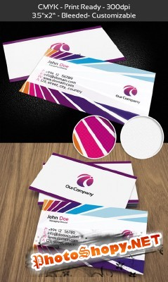 Business Cards - Managing Director