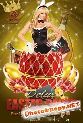 Easter Party Flyer - Delux