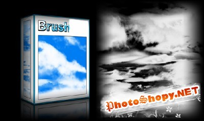 Clouds Brushes Set for Photoshop