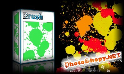 Paint Splatters Set for Photoshop