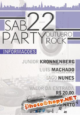 Flyer Party Rock