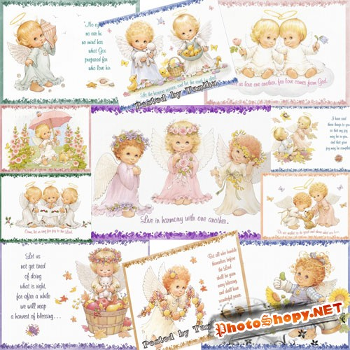 "�������� � ����������� | ""Cards with Angels"""