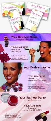 Beauty Business Cards Psd for Photoshop