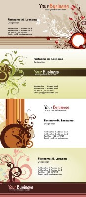 Personal Business Cards Psd for Photoshop