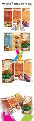 Modern Restaurant Menu - GraphicRiver