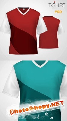 Shirt Psd Template for Photoshop