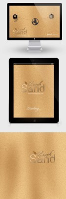Beach Sand Psd Background for Photoshop