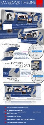 Facebook Timeline Cover Two - GraphicRiver