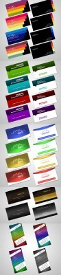 Collection Of Modern Psd Business Cards for Photoshop
