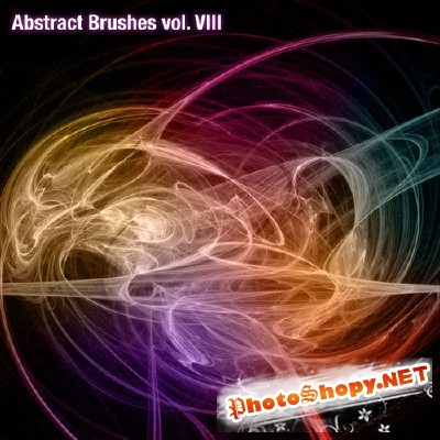 Abstract Brushes Set Volume 8 for Photoshop