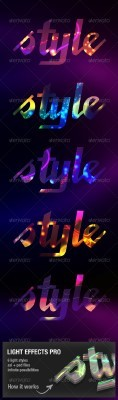Ligth Effects Pro for Photoshop - GraphicRiver