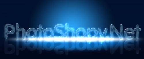 Создание неонового текста в PhotoShop CS5