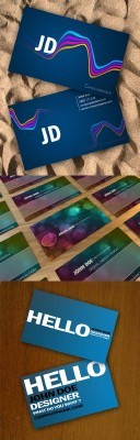 Modern Business Cards Template Pack for Photoshop