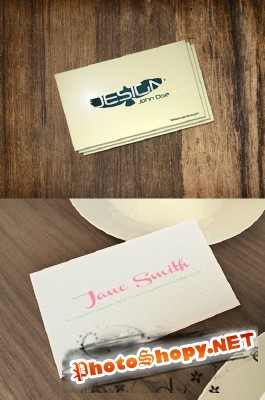 Bird Business Card Psd Template for Photoshop