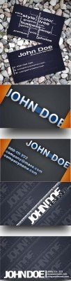 Business Card for Designers Psd Templates Pack for Photoshop