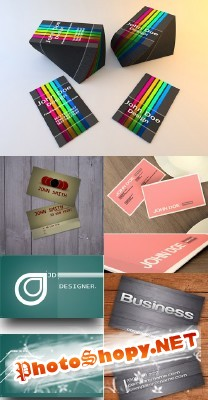 Business Card Psd Templates Pack 2 for Photoshop