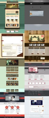 Web Templates Psd Pack 3 For Photoshop