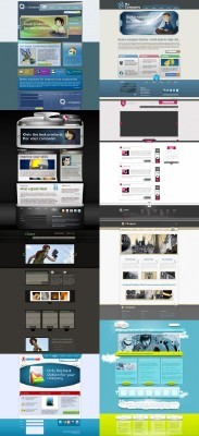 Web Templates Psd Pack 2 For Photoshop