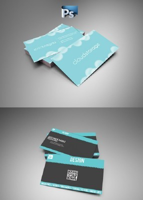 Modern Business Cards For Photoshop