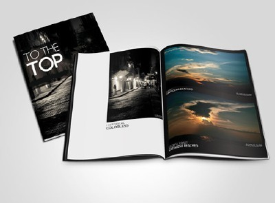 Magazine Mockup Psd Template for Photoshop