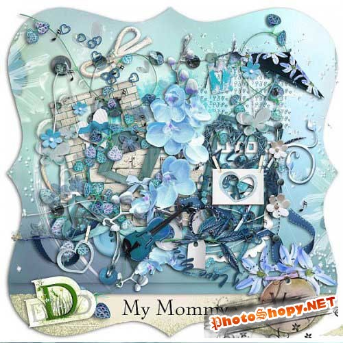 ������ �����-����� - ��� �������. Scrap - My mommy