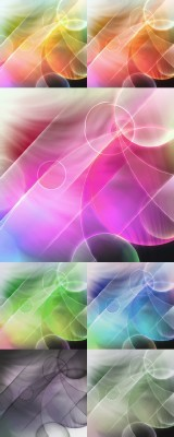 Psd Backgrounds for Photoshop - Circles and straight lines