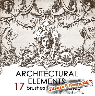 Architectual Ornaments Brushes for Photoshop