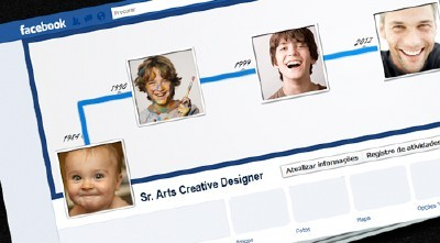 Facebook Template Timeline for Photoshop