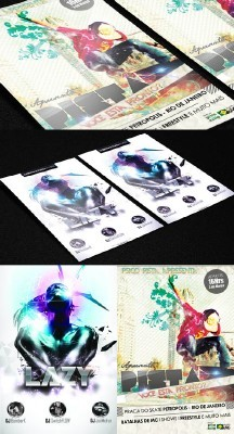 Photoshop Flyer 2 Psd Template Pack