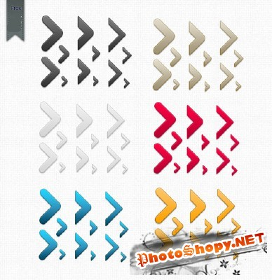 Arrows Pack Psd for Photoshop