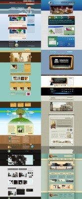 Web Templates Psd Pack 4 For Photoshop