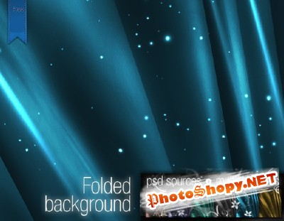 Folded Background for Photoshop