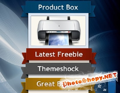Product Boxes Psd for Photoshop