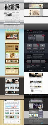 Web Templates Psd Pack 7 For Photoshop
