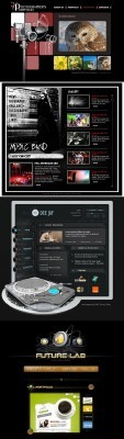 Black Web Template pack 5