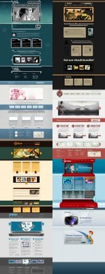Web Templates Psd Pack 9 For Photoshop