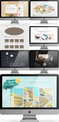 Web Templates Psd Pack 11 For Photoshop