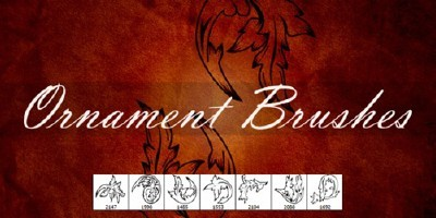 Ornament Brushes pack For Photoshop