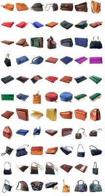 The collection of handbags and purses For Photoshop