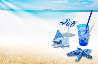 Sources For Photoshop - Clean white sand on the beach