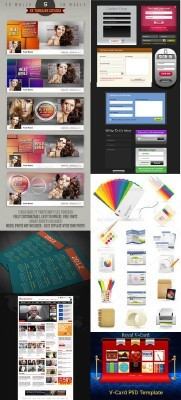 GraphicRiver Collection for Photoshop pack #2