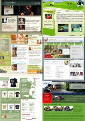 Web Templates Psd Pack 22 For Photoshop