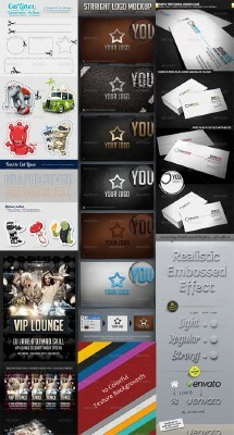 GraphicRiver Collection for Photoshop pack #4