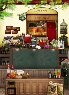 Sources - A small shop with food