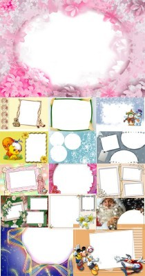 Collection of Spring Photo frames pack 11